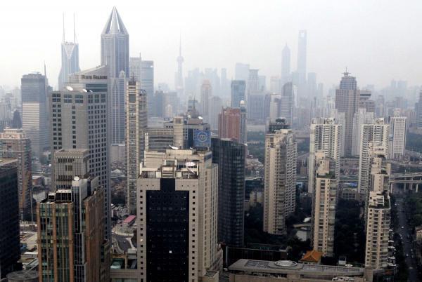 中国の都市部